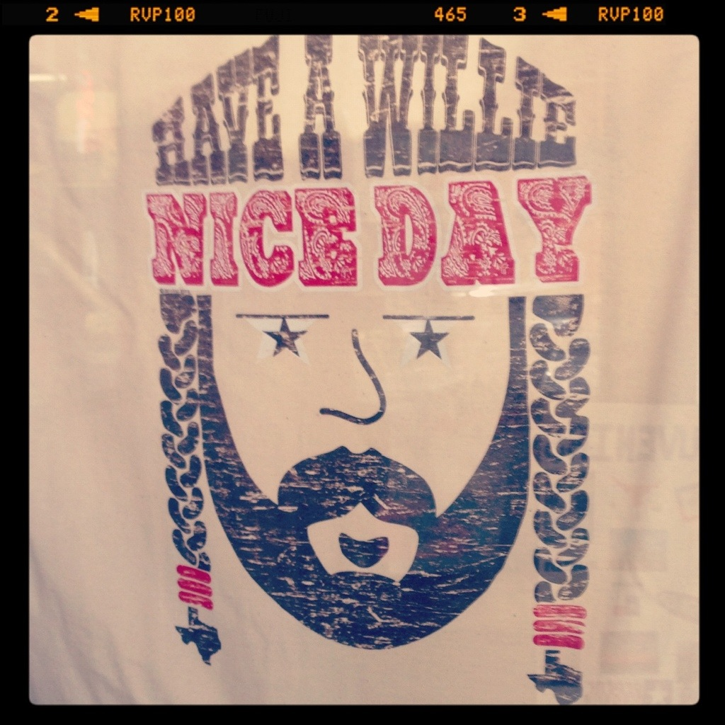 willie nelson tee shirt