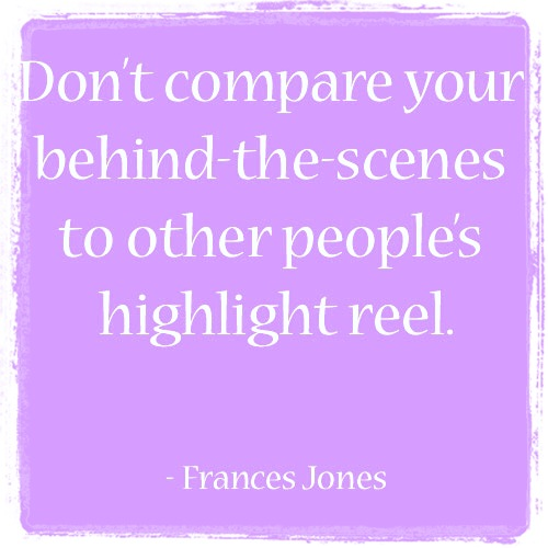 dont compare highlight reel quote