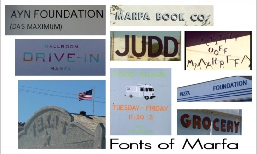 marfa font