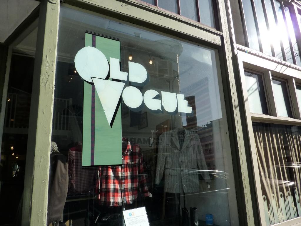 old vogue vintage san francisco