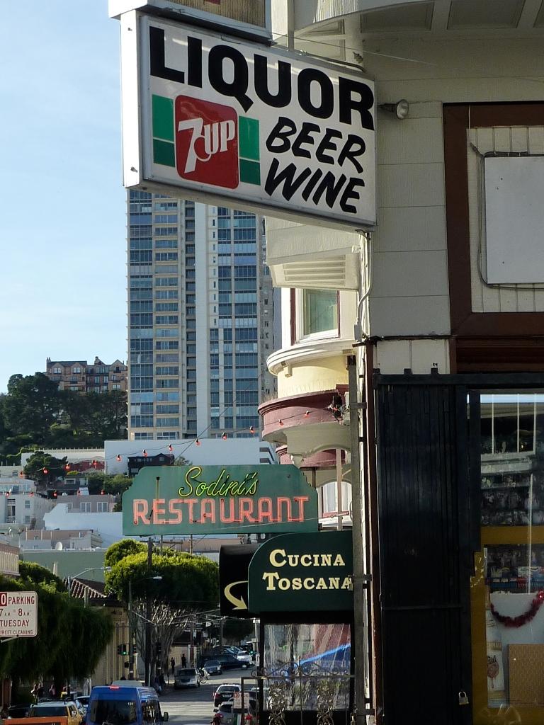 north beach san francisco signs