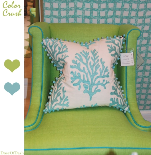 color crush apple green turquoise