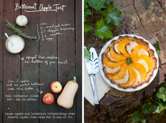 butternut apple tart