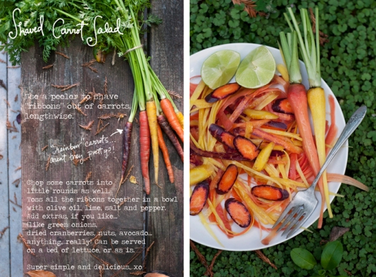 forest feast carrot salad