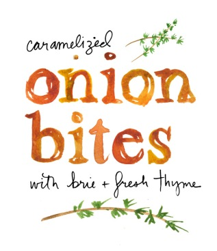 onion brie tart
