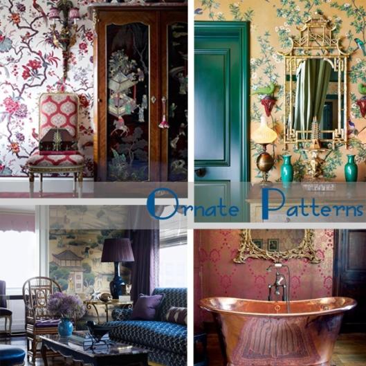 ornate wallpaper patterns