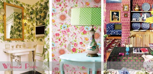 whimsical wallpaper prints