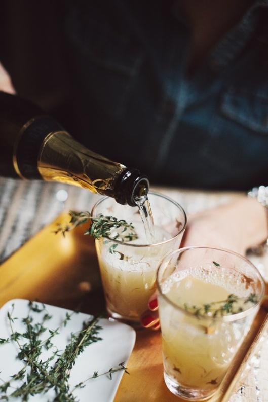 pear nectar thyme mimosa