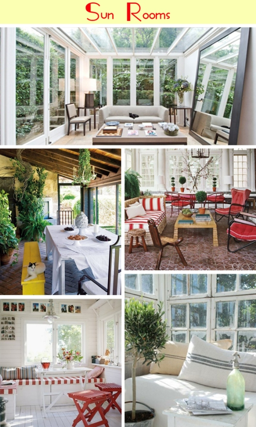 beautiful sun rooms