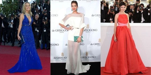 blue white red carpet cannes 2013