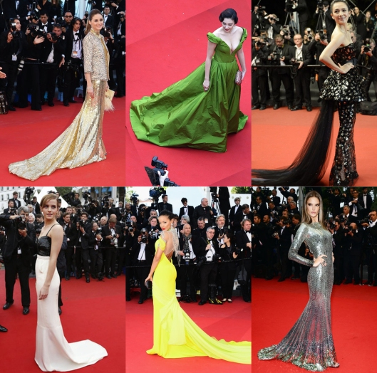 cannes 2013 red carpet gowns with trains