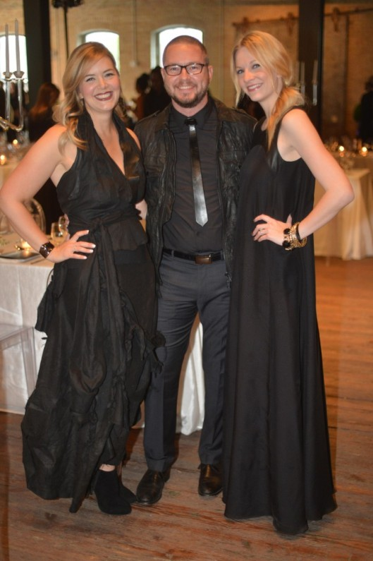 matt swinney and wife austin fashion week