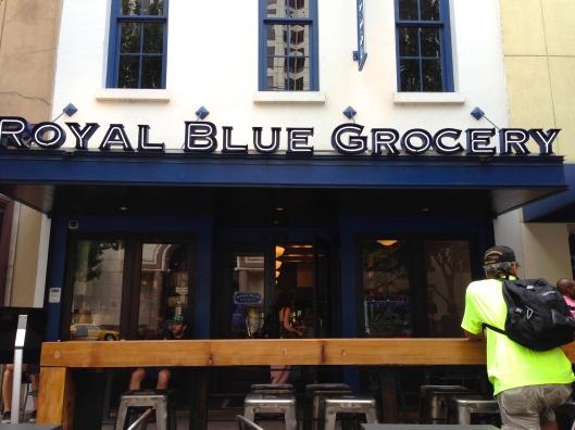 downtown grocery austin royal blue