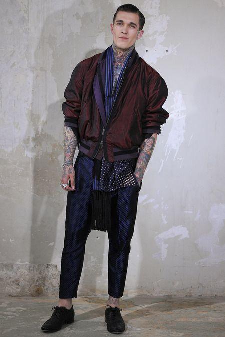 haider ackerman men's fashion week 14