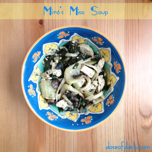recipe for udon miso tofu mushroom stew