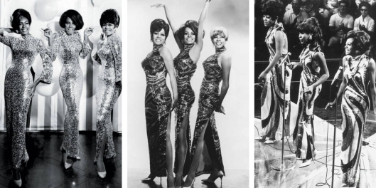 the supremes in sequined dresses