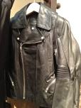 leather jacket loewe junya watanabe comme des garcons