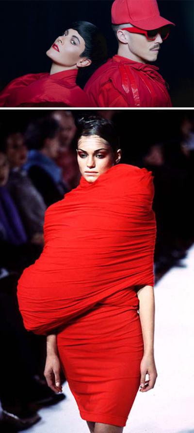 comme des garcons hi fashion bulges
