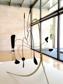 calder sculpture mobile standing