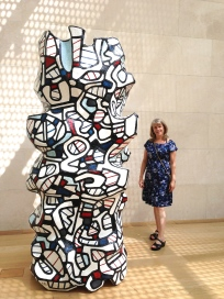 dubuffet totem pole sculpture nasher