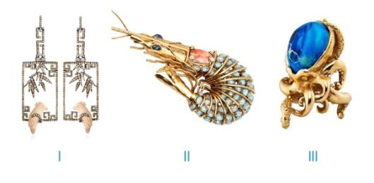 costume jewelry animals