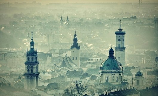 lviv ukraine in winter