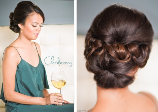 holiday hair style updo