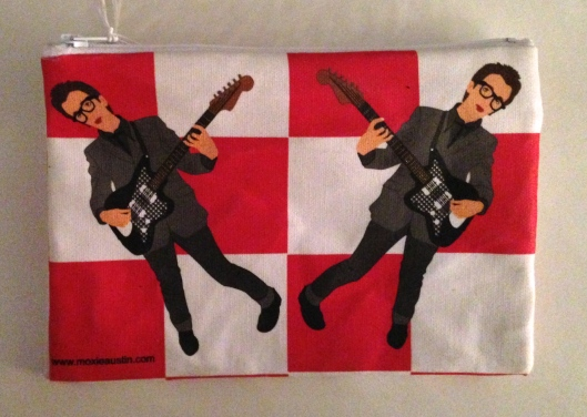 elvis costello my aim is true coin purse