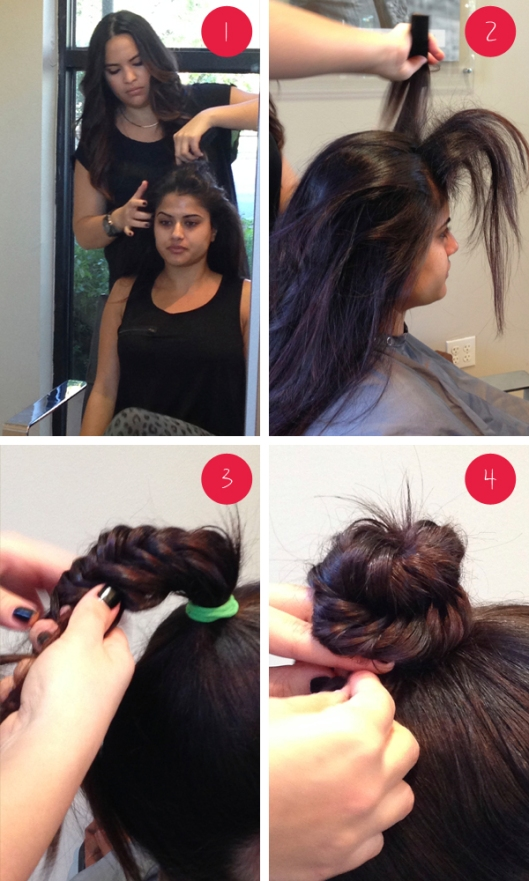 tutorial bun with braid