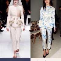 Straight From the Couture Runways: Peplum & Pants