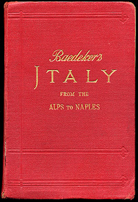 baedeker italy travel book